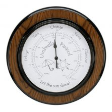 Widdop Piano Finish Large Barometer