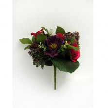 Wine Artificial Flowers Selection Bouquet Wine