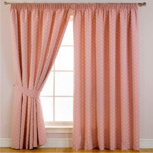 Dotty Blockout Ready Made Curtains