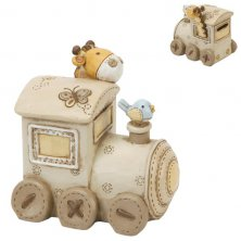 Baby Noah's Ark Train Money Box