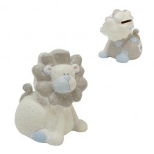 Tracey Russell Polka Dot Lion Money Box