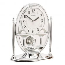 Rhythm Oval Mantel Clock