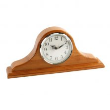 Widdop Napoleon Oak Finish Mantel Clock