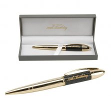 Gold Pen 70th Birthday by Juliana