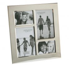 Nickel Plated Collage Photo Frame