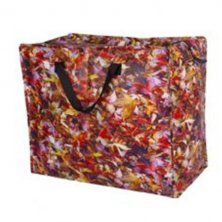 Autumn Leaves Funky Laundry Bag