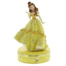 Belle Beauty & The Beast Disney Princess Trinket Box