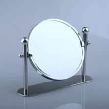 Chrome Double Sided Magnifying Mirror