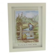 Disney Classic Pooh Heritage Wall Art - Fine Day For Friends