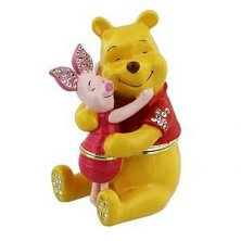 Pooh & Piglet Disney Classic Trinket Box Honey