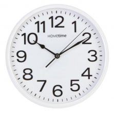 Hometime Silent Sweep Round Wall Clock
