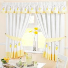Lemons Kitchen Curtains