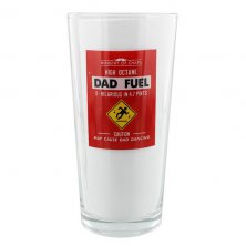 Dad Fuel Ministry of Chaps Beer Glass