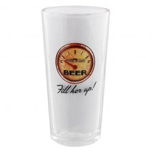 Ministry of Chaps Beer Glass - Fill Her Up Beer