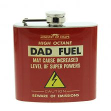 Ministry of Chaps Hip Flask - Dad Fuel