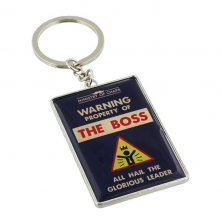 The Boss Ministry of Chaps Key Ring