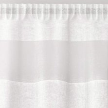 Oakland White Voile Panel