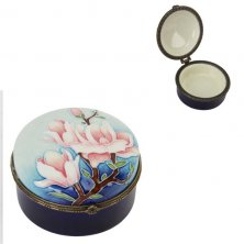 Old Tupton Ware Magnolia Bloom Round Trinket Box