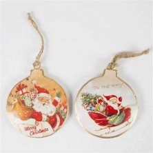 Victorian Style Christmas Tree Baubles