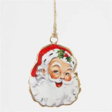 Victorian Style Retro Jolly Santa Christmas Tree Baubles