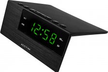 Acctim Adaven Mains Powered Digital Dual Alarm Clock