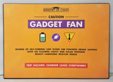 Gadget Fan Ministry of Chaps Metal Wall Plaque