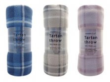 Tartan Fleece Throw