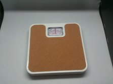 Cork Topped Mechanical Bathroom Scales