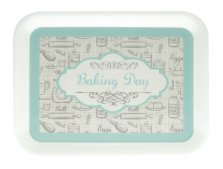 Baking Day Melamine Tray