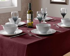 Select Plain Tablecloth Square