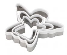 Angel Pastry Cutter 3 Pack
