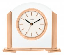 Acctim Riccia Rose Gold Mantel Clock