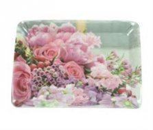 Wildflower Melamine Scatter Tray