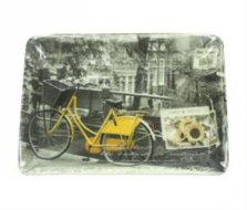 Velo Jaune Bicycle Melamine Scatter Tray