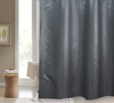 Starlight Polyester Shower Curtain - Blue Canyon