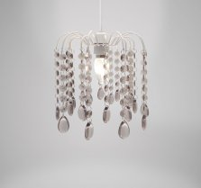 White Droplet Ceiling Pendant Lamp Shade