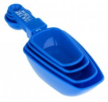 Chef Aid 4 Scoops And Measuring Spoons