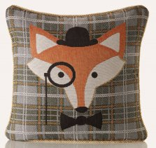 Mr Fox Tapestry Cushion Cover