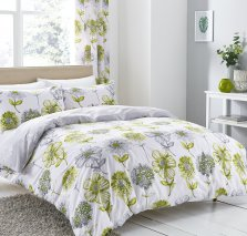 Green Banbury Catherine Lansfield Duvet Set