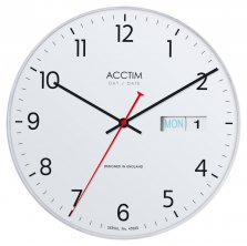 Acctim Datetime Quartz Wall Clock