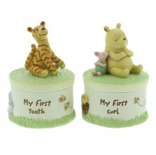 Disney Classic Pooh First Tooth and Curl Boxes