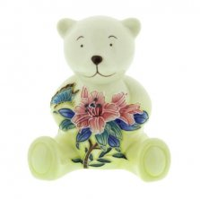 Old Tupton Ware Pink Flower Pattern Teddy