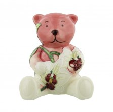 Old Tupton Ware Morning Orchid Pattern Teddy