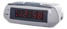 Acctim Metizo LED Mains Operated alarm clock