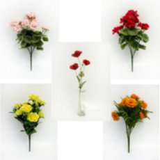 Artificial Silk Flowers & Graveside Memorials