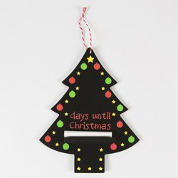 Days Till Christmas Chalkboard.Days Until Christmas Chalkboard Coloured
