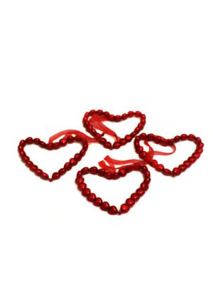 Red Heart Hanger Decorations
