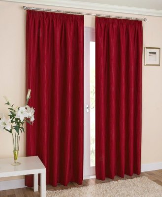Galaxy Red Blockout Readymade Curtains