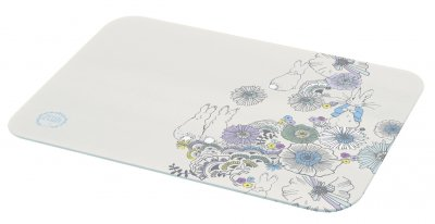 Beatrix Potter Peter Rabbit Contemporary Glass Worktop Protector/Chopping Board