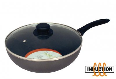 28cm Wok and Lid